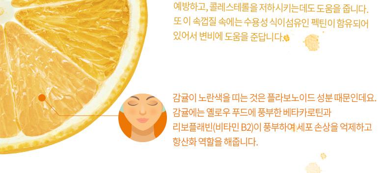 감귤의 영양과 효능 2