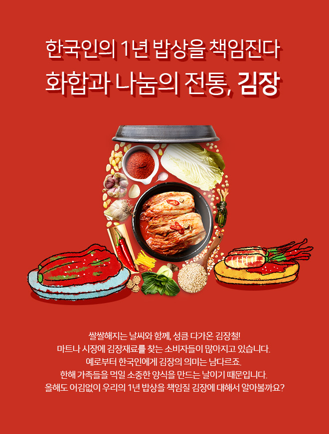 한국인의 1년 밥상을 책임진다 화합과 나눔의 전통, 김장