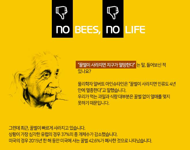NO BEES, NO LIFE